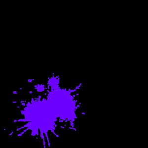 mancha morada