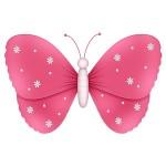mariposa.rosa