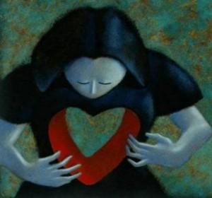 hueco corazon