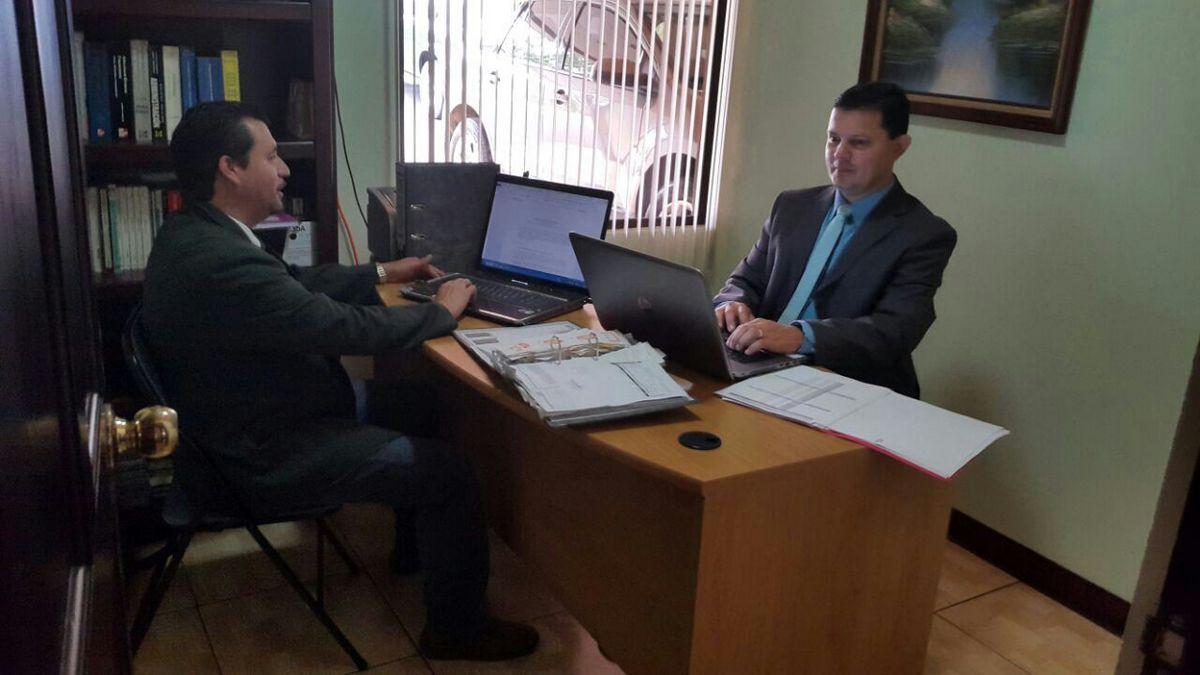 Lic. Rigoberto Chaves y Lic. Osvaldo Vega