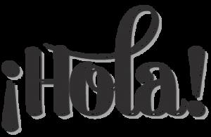 hola cursiva